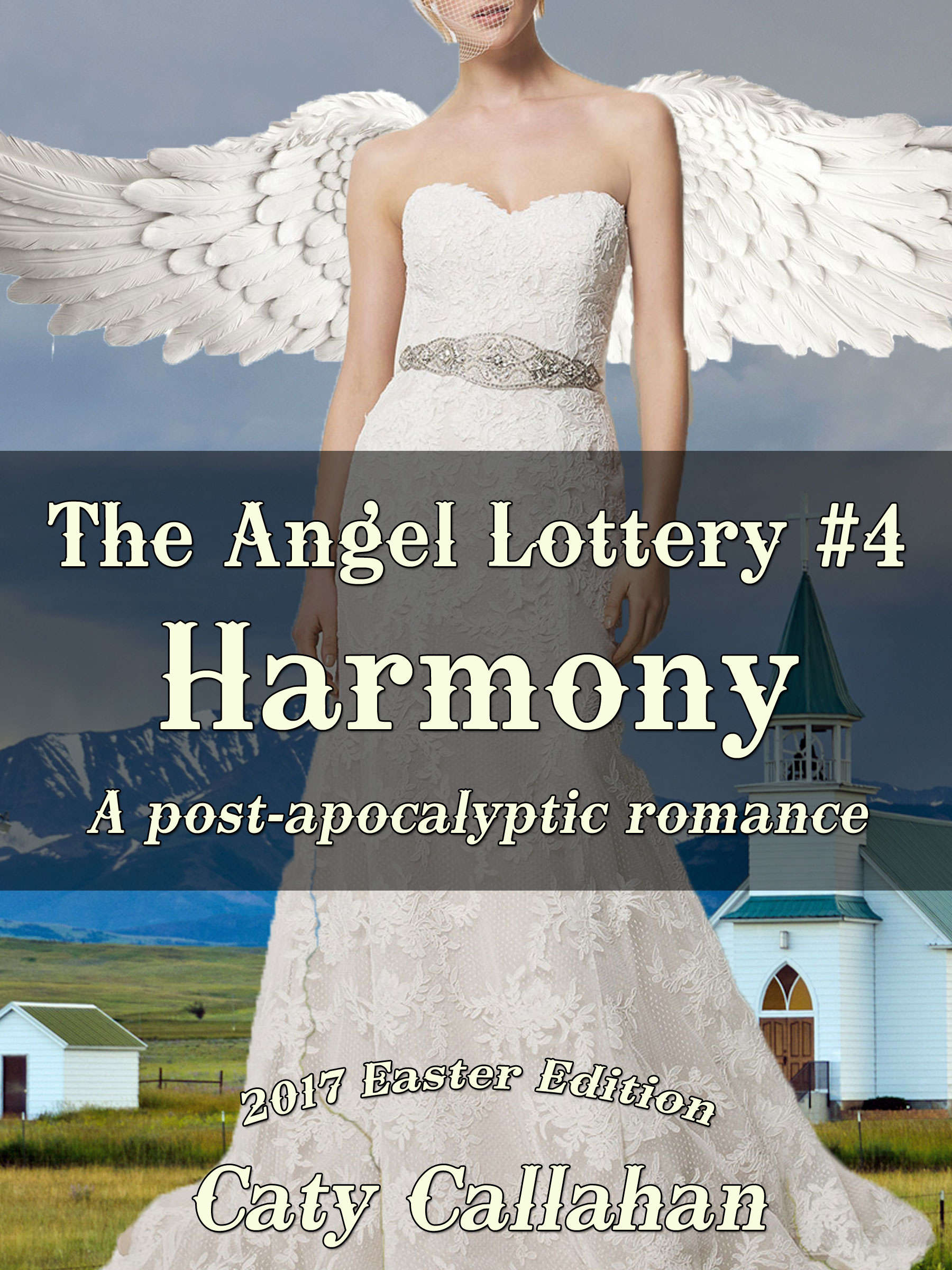 Angel Lottery 4 Harmony | Sweet Christian romances for young adults